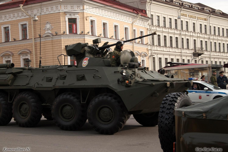 Военный парад в Санкт-Петербурге