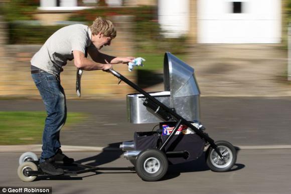 Мотоколяска для детей каскадеров
