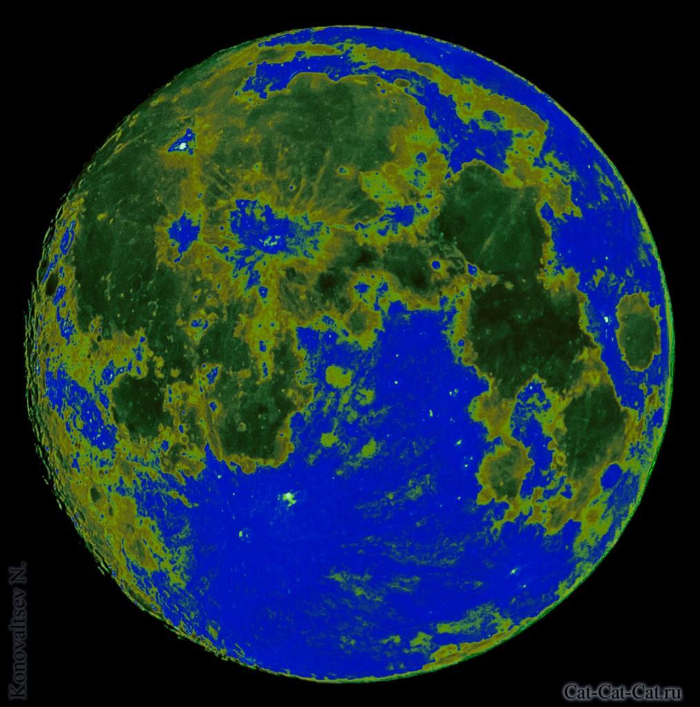 Вода и леса на Луне