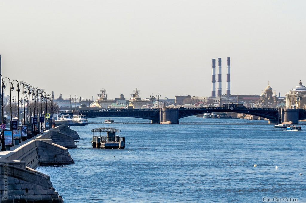Дворцовый мост через Неву (Санкт-Петербург)