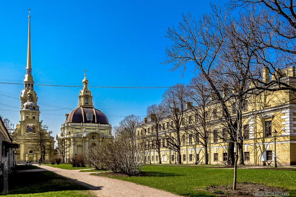 Петропавловский собор и Великокняжеская усыпальница