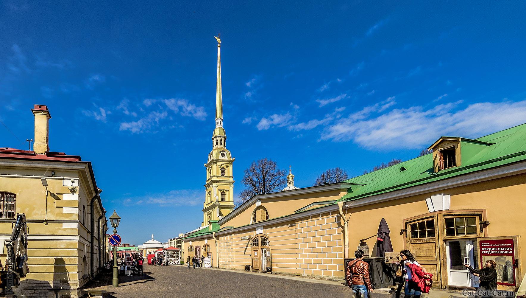 Каретник (Петропавловская крепость. Панорама Санкт-Петербурга.
