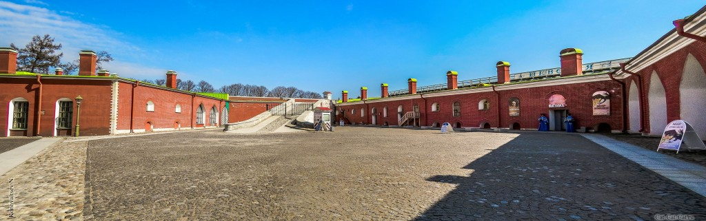 Государев бастион (Петропавловская крепость, Санкт-Петербург, панорама)