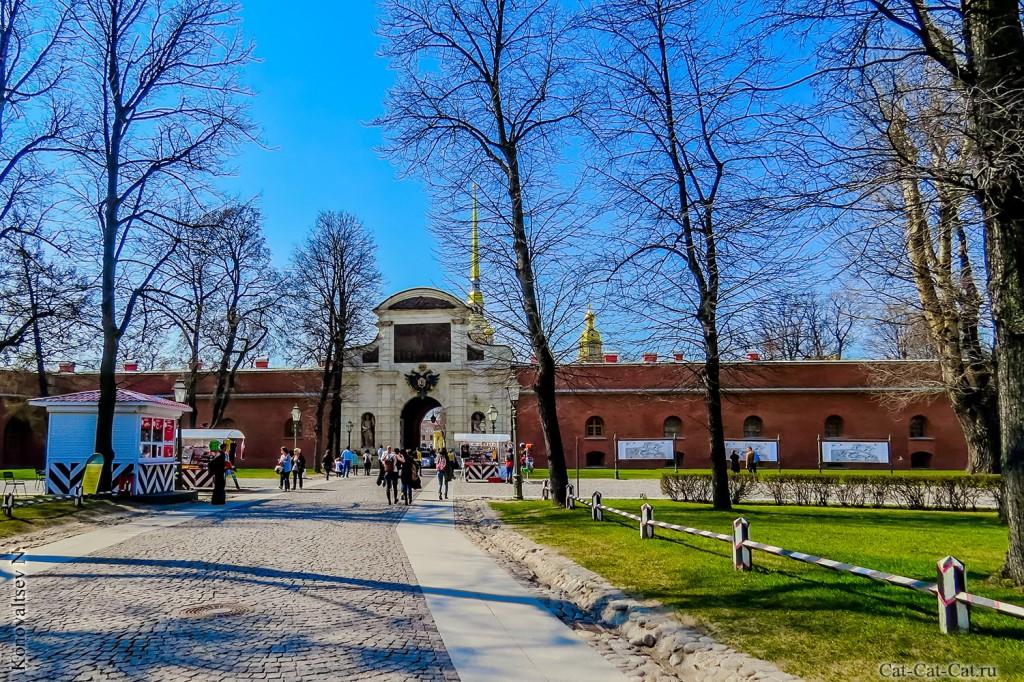 Петровские ворота (Петропавловская крепость, Санкт-Петербург)
