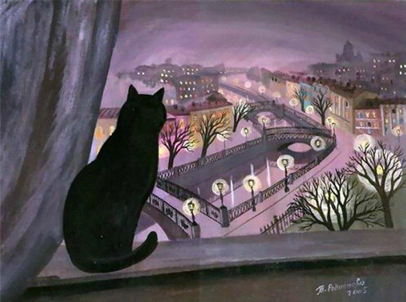Кошки Санкт-Петербурга