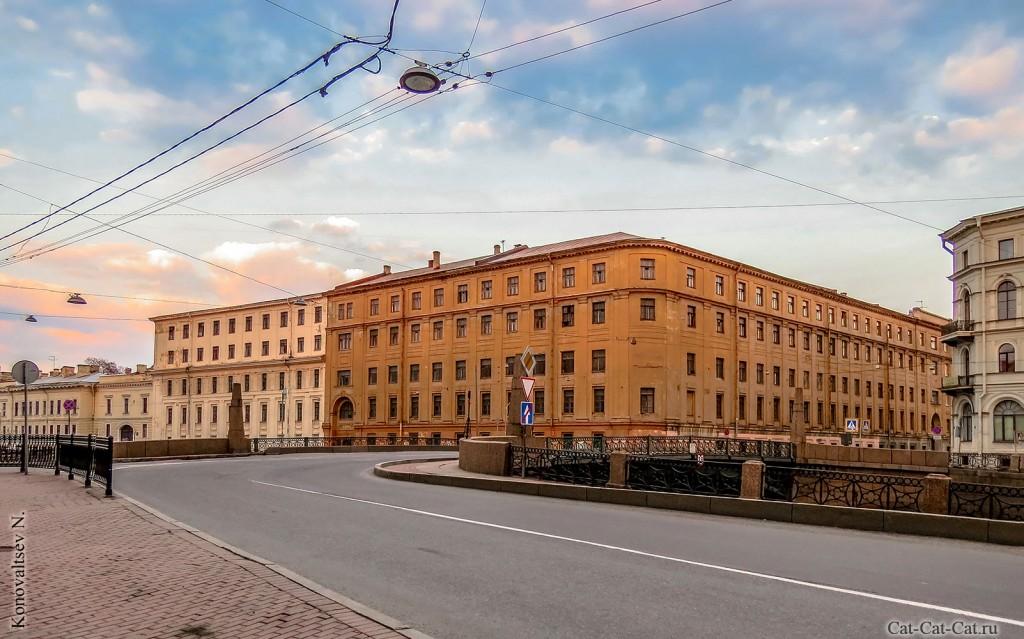 Здание Главного Кригс-Комиссариата (Интендантские склады) - Военно-интендантская академия