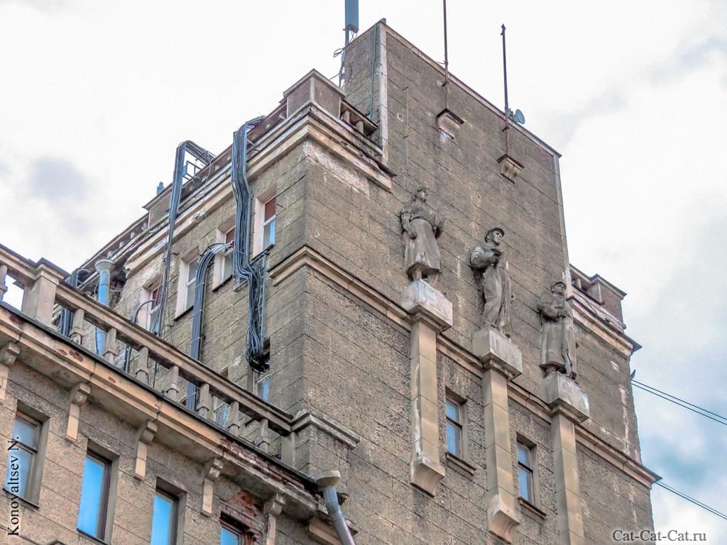 бывший дворец культуры работников связи