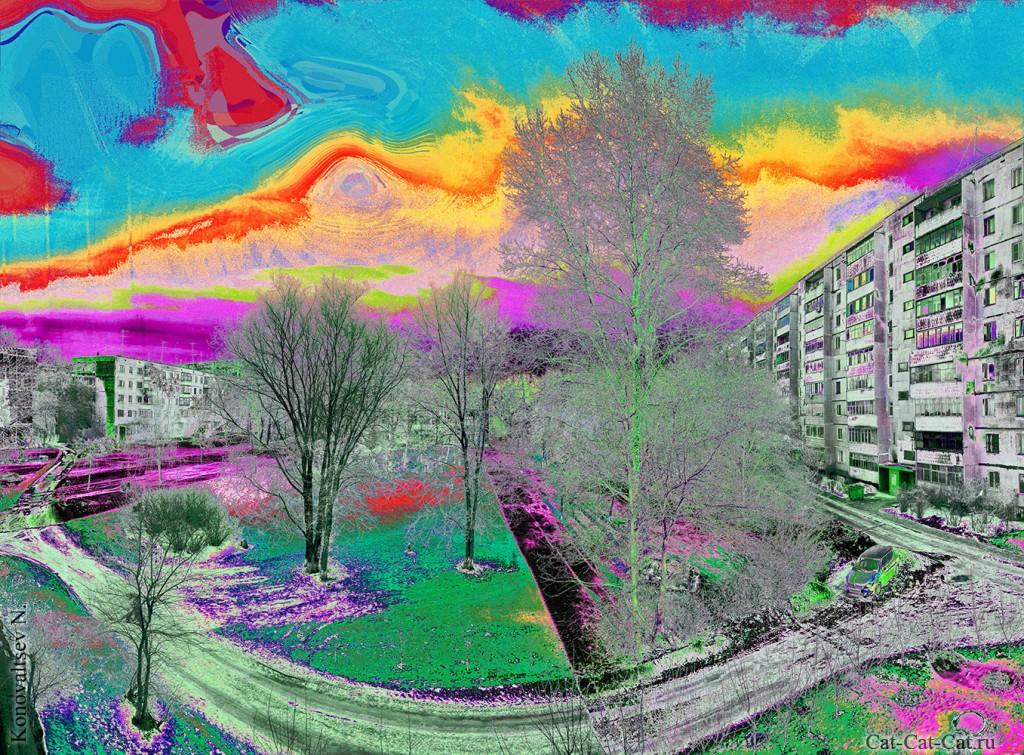 Фотоэксперимент с цветом