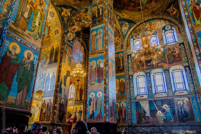 храм спаса-на-крови санкт-петербург внутри фото