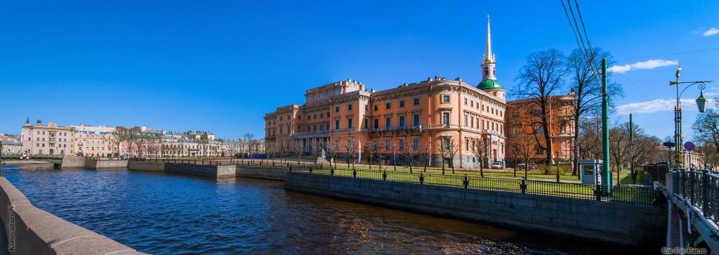 Михайловский замок (панорама)