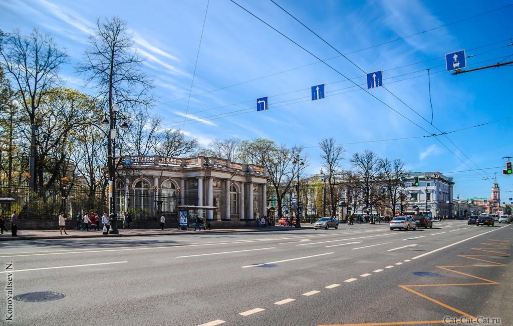 Павильон Аничкова дворца