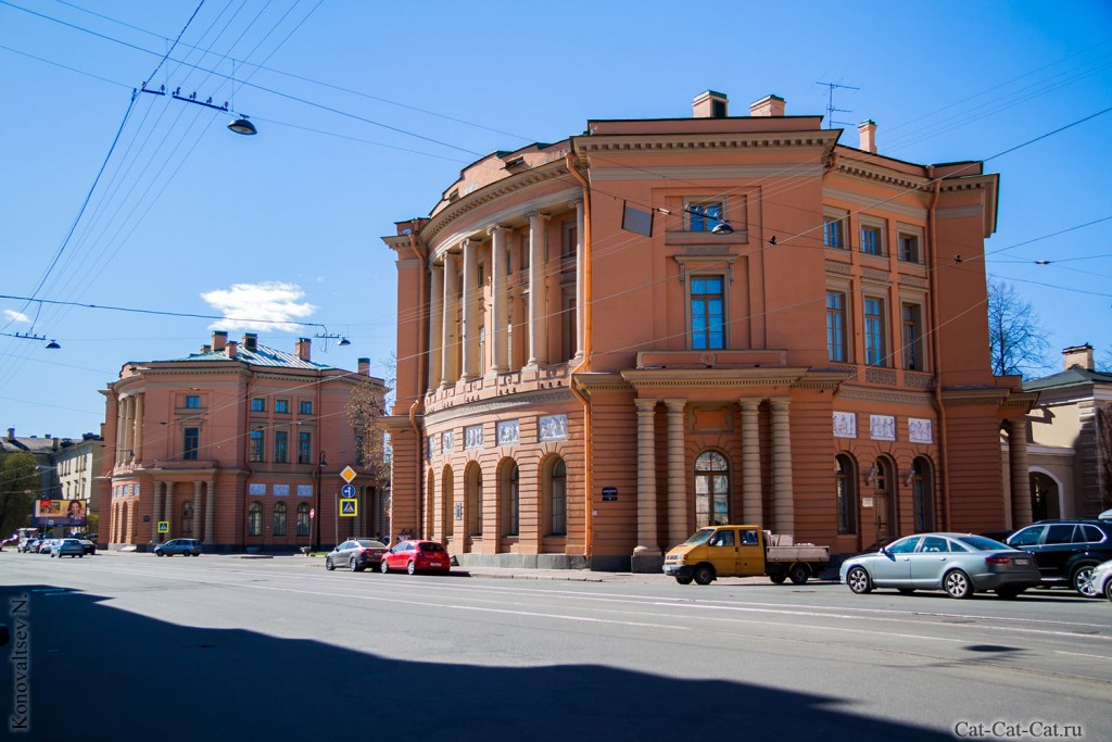 Здания Кордегардий Михайловского замка