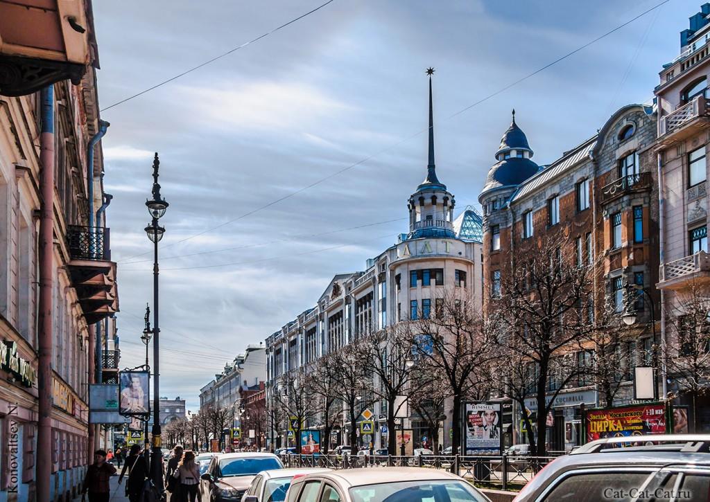 Дом Ленинградской Торговли, Доходный дом Н.А. Мельцера