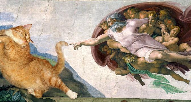 Известнейшие картины с котами