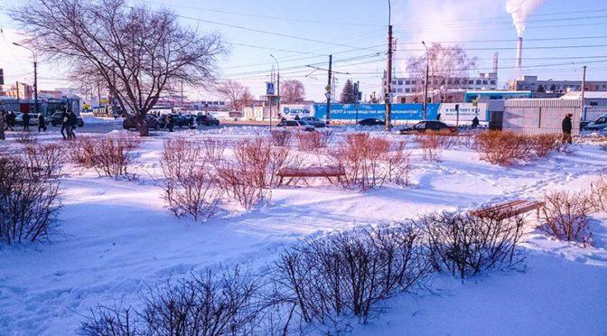 Зима в Засвияжье.