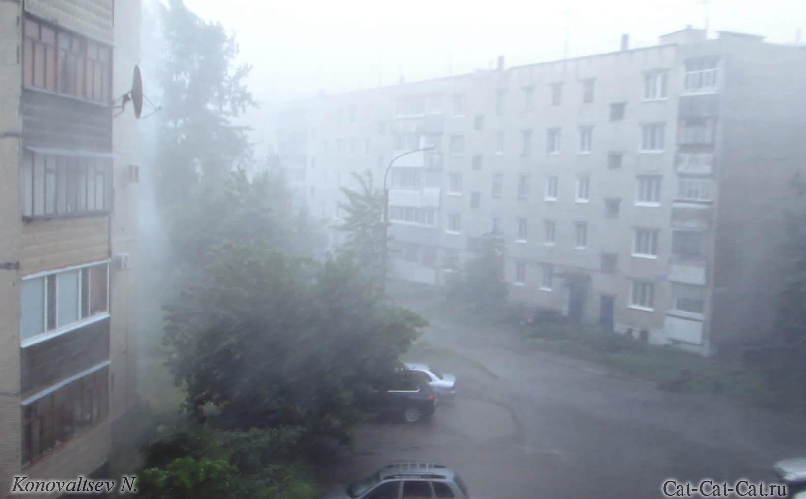 Ураган в Ульяновске 01.07.2017 (Видео)