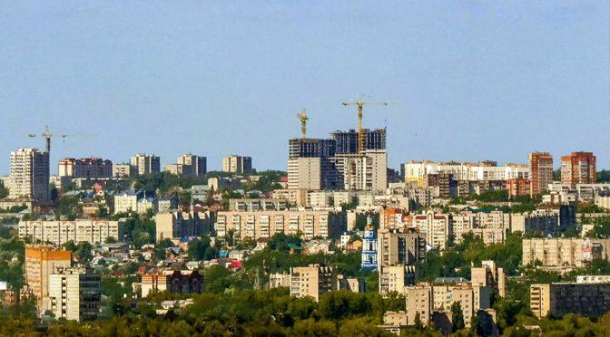 Ульяновск с высоты — ускоренная съемка Timelapse