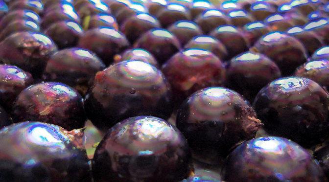 Как быстро перебрать ягоды, черную смородину, вишню
