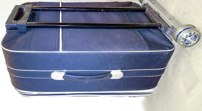 Ремонт колёс и ручки чемодана